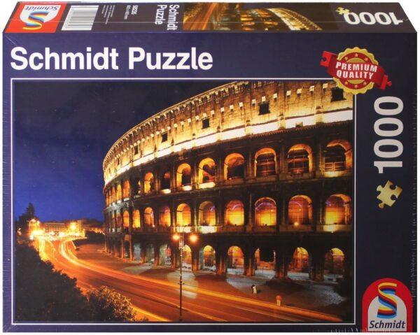 Schmidt Puzzle Colosseum bei Nacht 1000 db