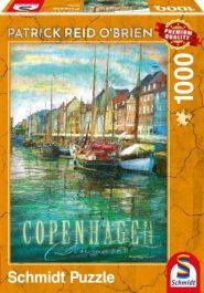 Schmidt Puzzle - Copenhagen, 1000 db