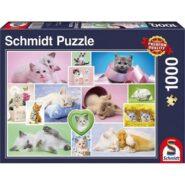 Schmidt Puzzle - Cuddly cats, 1000 db