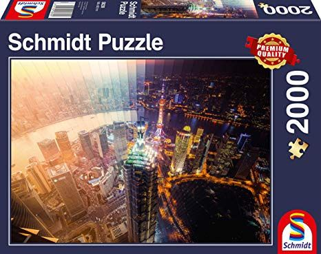 Schmidt Puzzle - Day and Night, Time slice, 2000 db