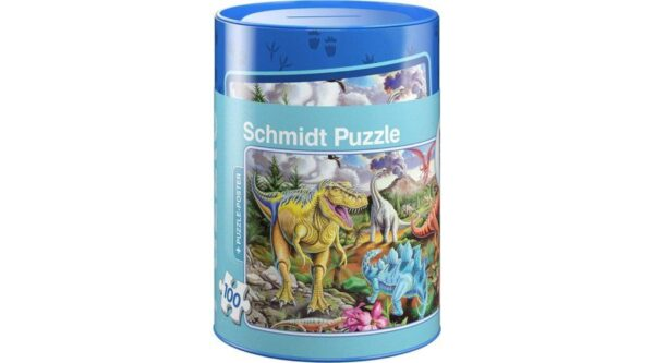Schmidt Puzzle Dinosaurs 100 db puzzle Persellyel