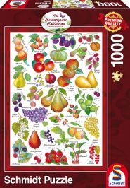 Schmidt Puzzle - Fruits, 1000 db