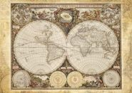 Schmidt Puzzle - Historical map of the world, 2000 db