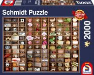 Schmidt Puzzle - Miniature Treasures, 2000 db