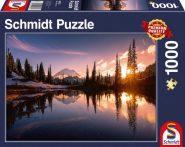 Schmidt Puzzle - Mountain Scene 1000 db