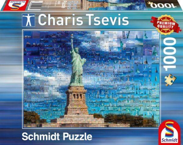 Schmidt Puzzle New York 1000 db