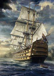 Schmidt Puzzle - Sails set, Sarel Theron, 1000 db