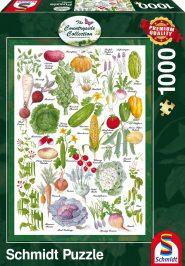 Schmidt Puzzle - Vegetable Garden, 1000 db