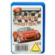 Technikai kártya - Cabrio autok