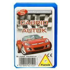 Technikai kartya Cabrio autok