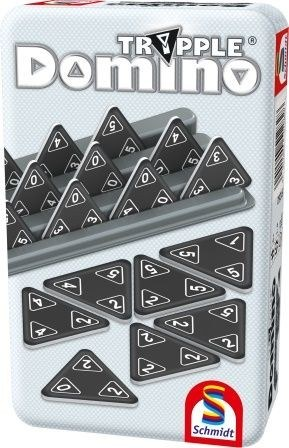 Tripple Domino Fémdobozos társasjáték