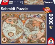 Schmidt Puzzle - Ancient World Map, 3000 db