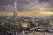 Schmidt Puzzle - Paris, City of Love, Thomas Kinkade, 1000 db