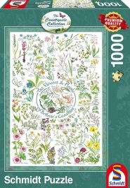Schmidt Puzzle - Flowers & Plants, 1000 db