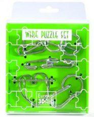 Mini Wire Puzzle szett - Zöld