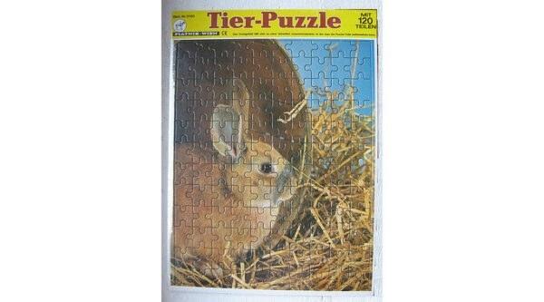 Piatnik puzzle nyuszi