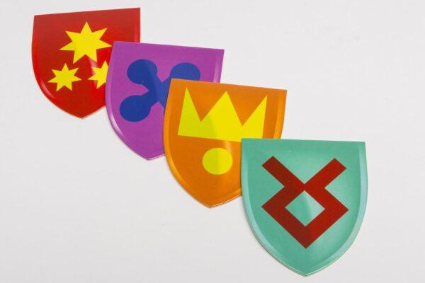 Címer készlet - nagy
