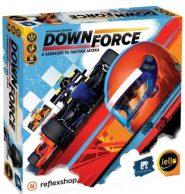 Társasjáték Downforce: A sebesség és taktika játéka