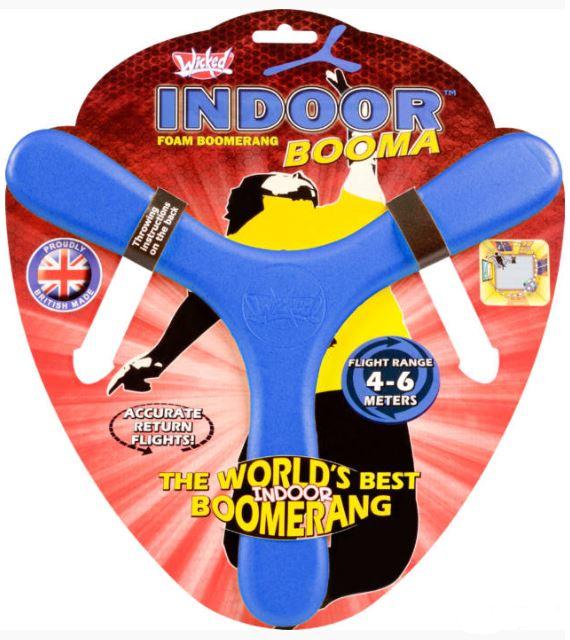 indoor bumerang