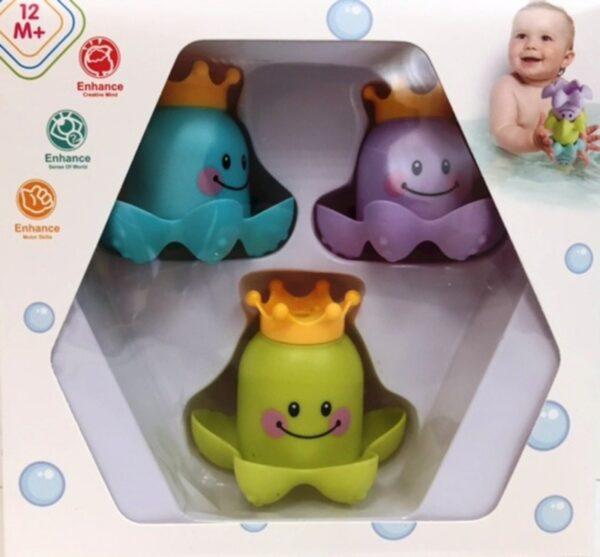 Bébi játék - Polip fürdőjáték