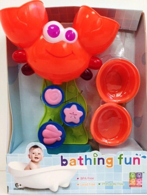 Bébi játék - Rák malom fürdőjáték