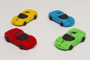 Sportkocsi - radír