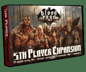 Blood Rage - 5. játékos kiegészítő
