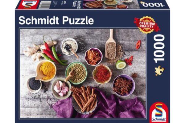 Schmidt Puzzle -Riding school and veterinarian, 150 db Puzzle +2 Schleich ajándék figura