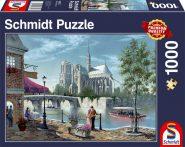 Schmidt Puzzle - Notre-Dame, 1000 db