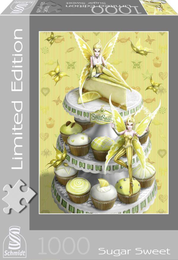 Schmidt Puzzle -Sugar Sweet, Lemon Elves, 1000 db