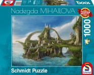 Schmidt Puzzle -Island of waterfalls, 1000 db