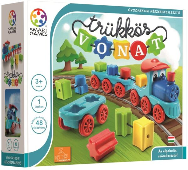 Fejlesztő játékok Trükkös vonat