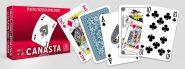 Kártyák Canasta – dupla paklis 110 lapos