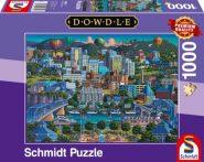 Schmidt Puzzle -Chattanoga, 1000 db