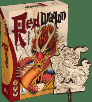 Red Dragon promó Sárkány figurával