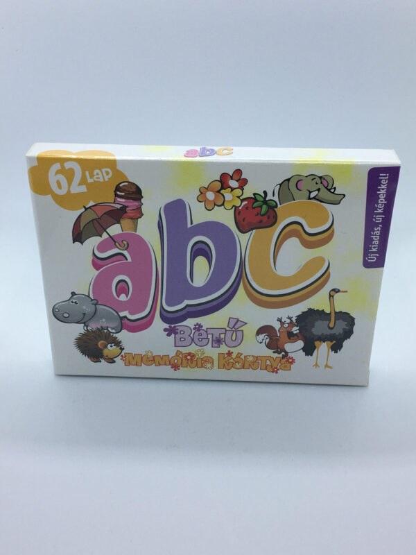 Betű memória ABC társasjáték