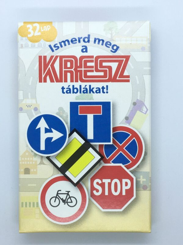 Ismerd meg a Kresz táblákat!