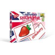 Nyelvoktató szótár kártya - Angol