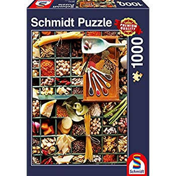 Schmidt Puzzle – Kitchen Potpourri, 1000 db