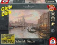 Puzzle Schmidt Puzzle – In the streets of Venice, Glow in the Dark, 1000 db sötétben világít