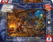 Puzzle Schmidt Puzzle – Santa Claus is here!, Limited Edition, 1000 db