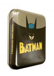 Kártyák DC – Batman römi kártya – Fémdobozban