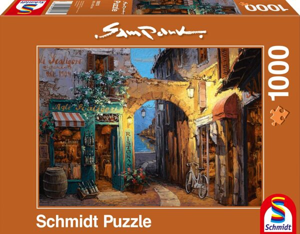 Schmidt Puzzle-Alley at Lake Como, Sam Park, 1000 db