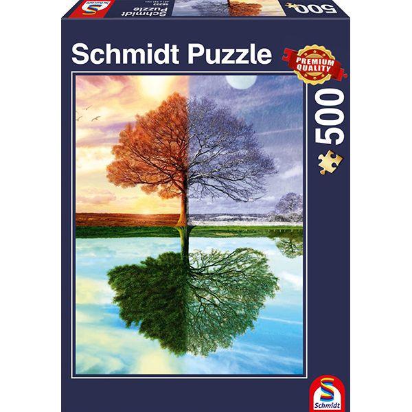 Schmidt Puzzle – The seasons tree 500 db
