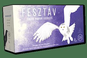 Fesztáv Európai madarak kiegészítő társasjáték