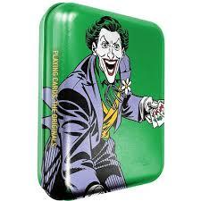 DC-Joker römi kártya-Fémdobozban