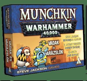 Munckin Warhammer 40K Vadak és varázslók kiegészítő társasjáték