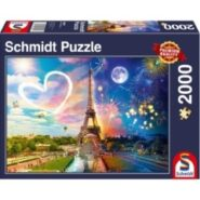 Schmidt Puzzle – Paris, day and night, 2000 pcs