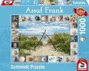 Puzzle Schmidt Puzzle – Strandgut, 1000 db
