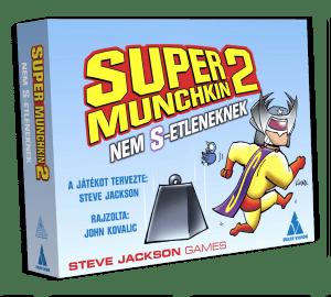 Munchkin Super Munchkin 2 Nem S etleneknek kiegészítő társasjáték